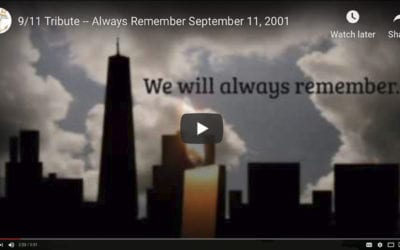 Has Anyone Ever Taken Your Place? An Amazing Account + A 9/11 Tribute