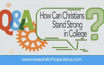 How Can Christians Stand Strong in College?