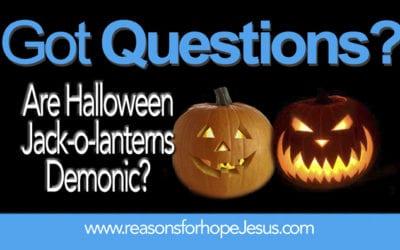 Are Halloween Jack-o'-lanterns Demonic?