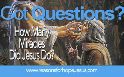 How Many Miracles Did Jesus Do on Earth?