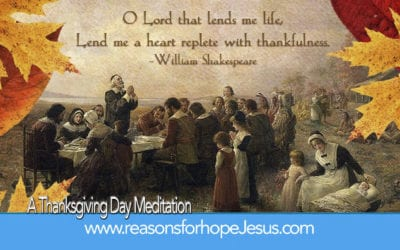 A Thanksgiving Day Meditation — Quotes from William Bradford