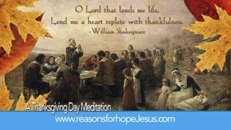 Thanksgiving Day Meditation