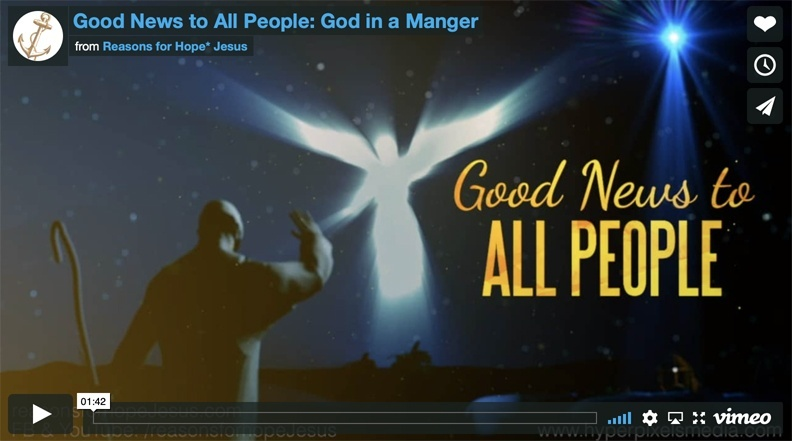Good News to All People: God in a Manger
