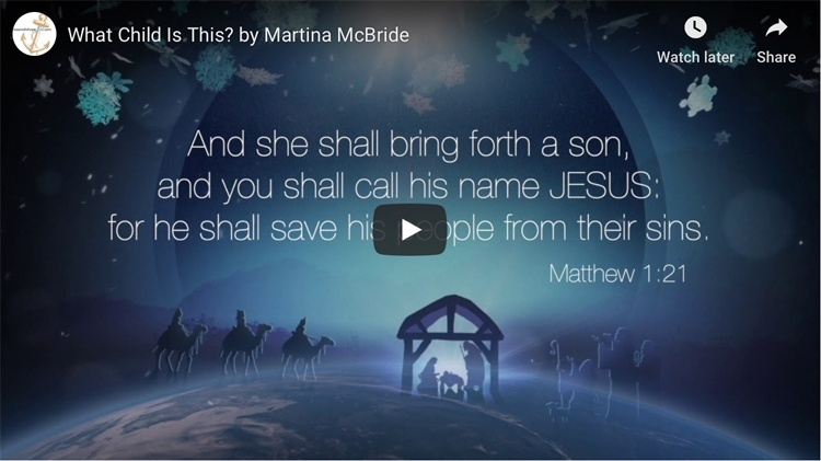 What Child Is This? by Martina McBride