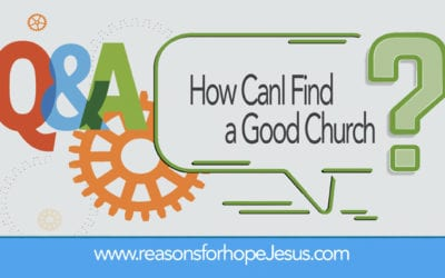 How Can I Find a Good Church?