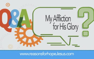 My Affliction for His Glory — Daniel Ritchie