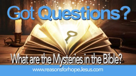 mysteries in the Bible