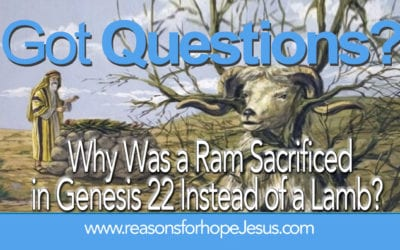 Why Was a Ram Sacrificed in Genesis 22 Instead of a Lamb?