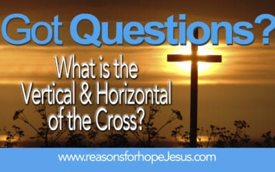 What is the Vertical and Horizontal of the Cross?