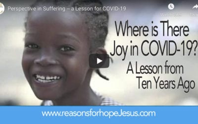 Where is There Joy in COVID-19? A Lesson from Ten Years Ago