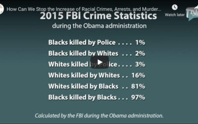 How Can We Stop the Increase of Racial Crimes, Arrests, and Murders?