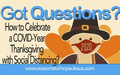 How to Celebrate a COVID-Year Thanksgiving with Social Distancing?