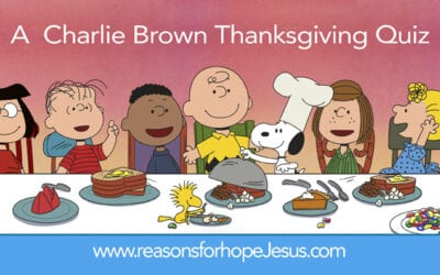 A Charlie Brown Thanksgiving Quiz