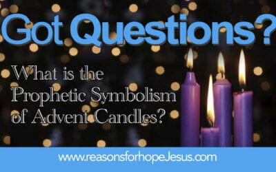 What is the Prophetic Symbolism of Advent Candles?