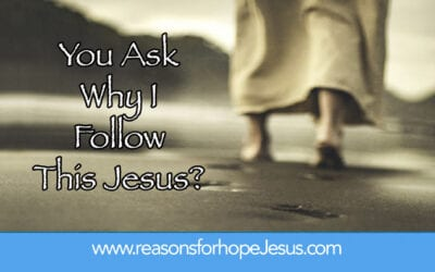 You Ask Why I Follow This Jesus?