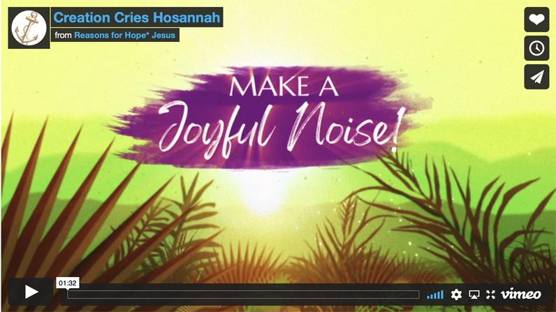Creation Cries Hosannah