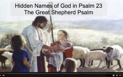 What are the Names of God Hidden in Psalm 23?