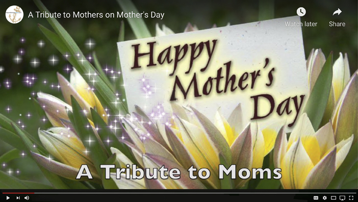 A Tribute to Mothers on Mother's Day