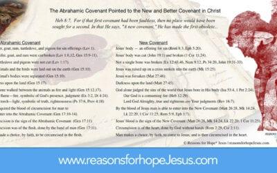 Abrahamic Covenant / New Covenant Chart