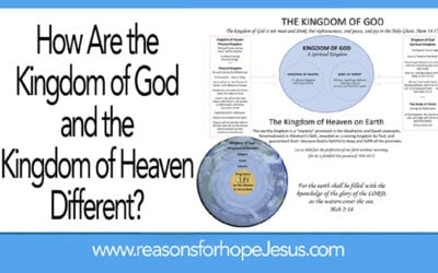 How Are the Kingdom of God and the Kingdom of Heaven Different?