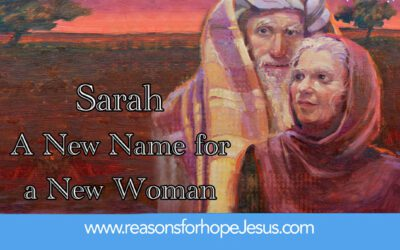 Sarah — A New Name for a New Woman