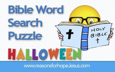 Word Search Puzzle – Halloween