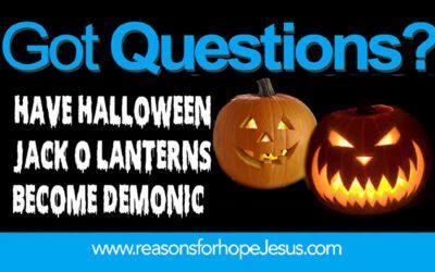 Have Halloween Jack-o'-lanterns Become Demonic?